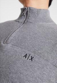Armani Exchange - Strikkegenser - melange grey - 6