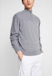 Armani Exchange - Strikkegenser - melange grey - 3