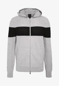 Armani Exchange - Chaqueta de punto - gray/black - 3