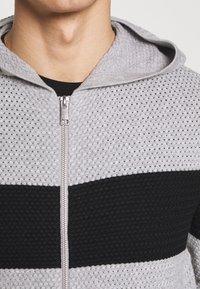 Armani Exchange - Chaqueta de punto - gray/black - 4