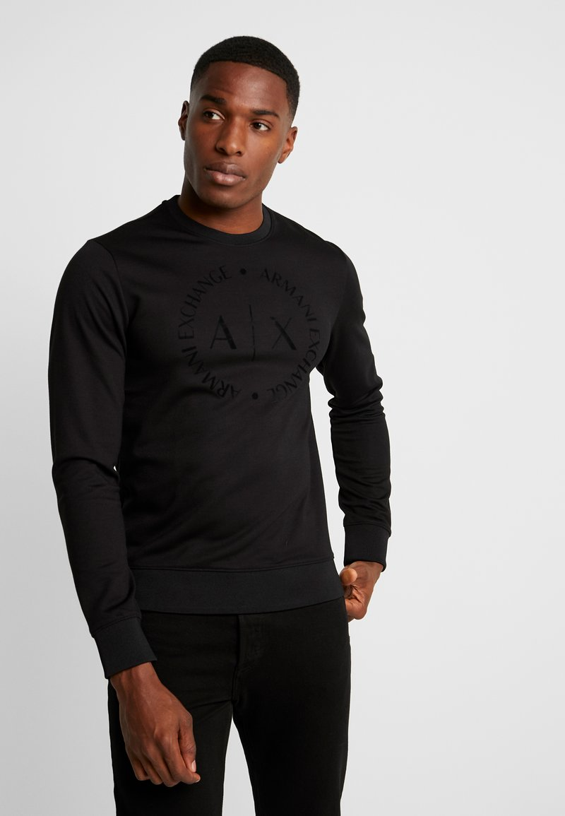 Armani Exchange - Sweatshirts - black