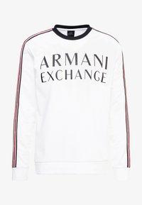 Armani Exchange - Top sdlouhým rukávem - white - 4