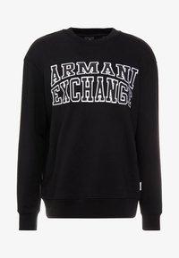 Armani Exchange - Sudadera - black - 4