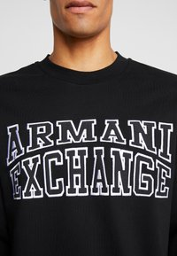 Armani Exchange - Sudadera - black - 5