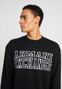 Armani Exchange - Sudadera - black - 3