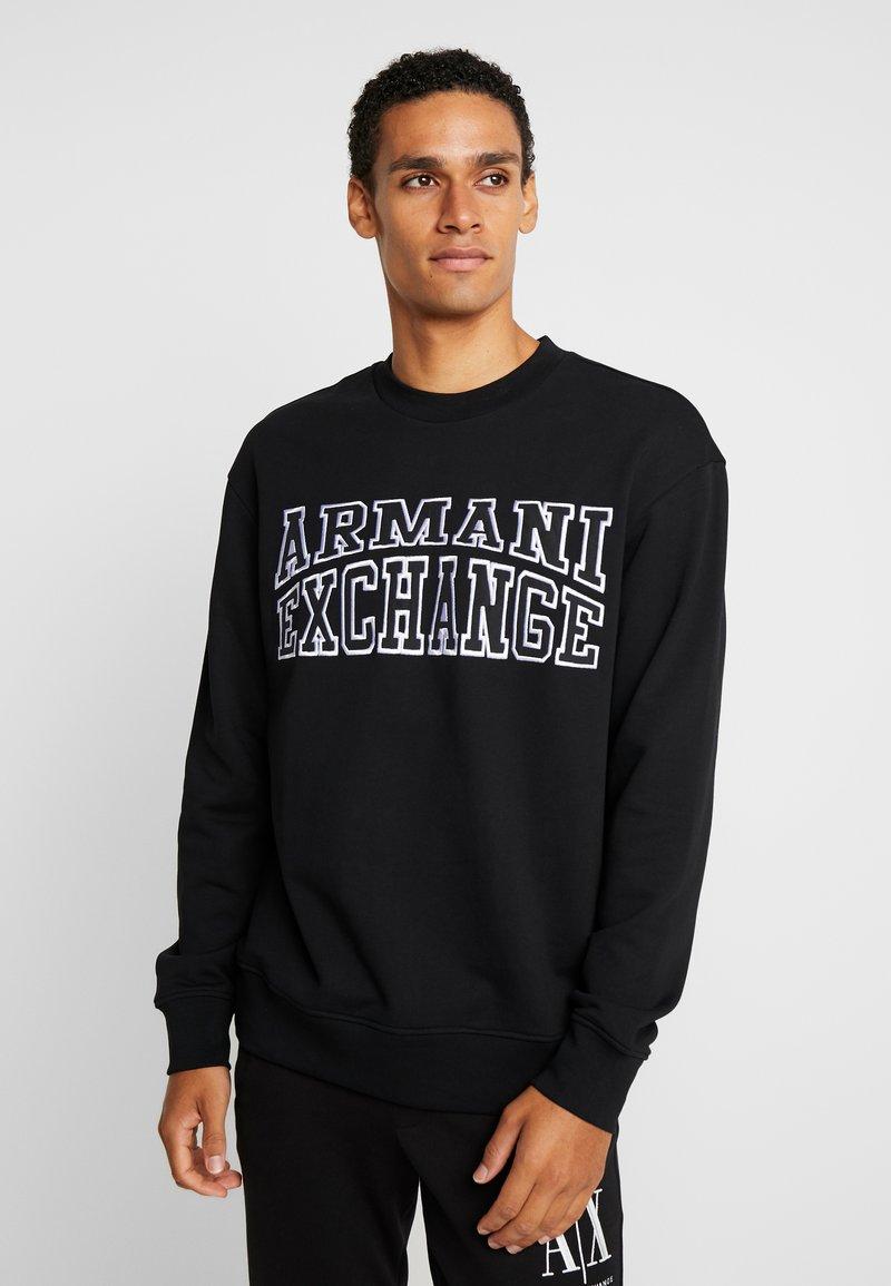 Armani Exchange - Sudadera - black