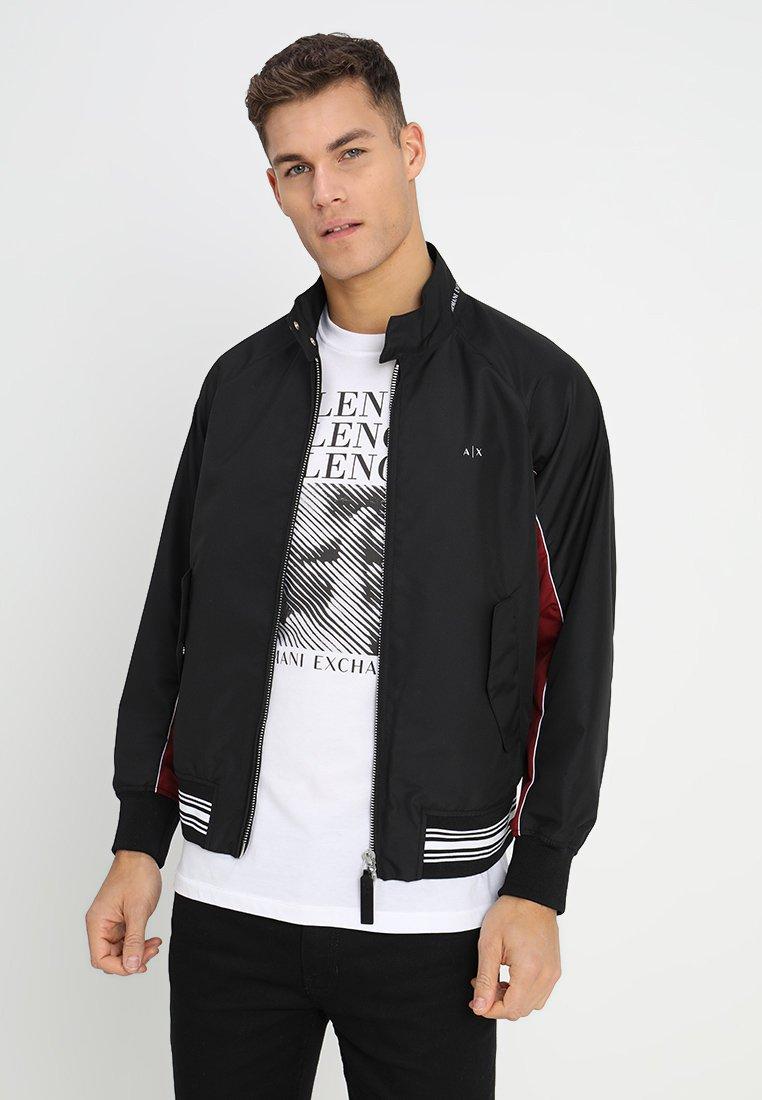 Armani Exchange - Korte jassen - black/biking red