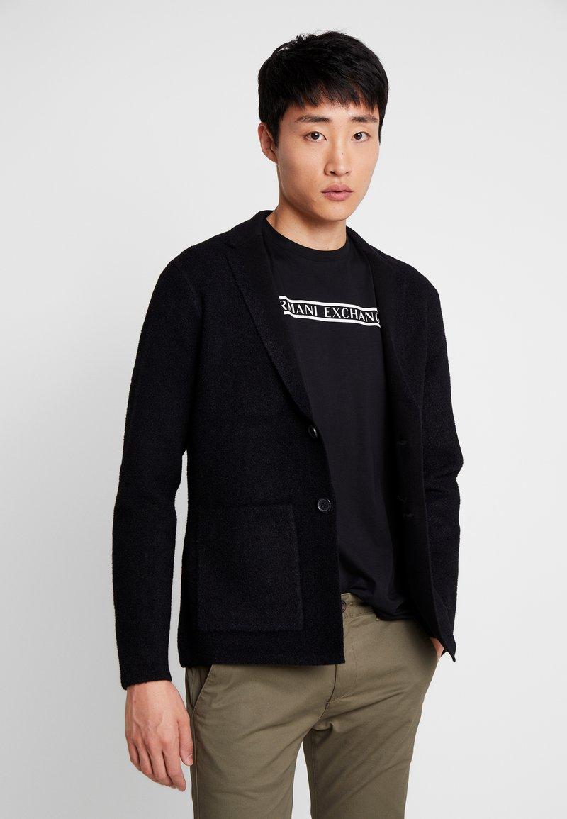 Armani Exchange - Blazer jacket - black