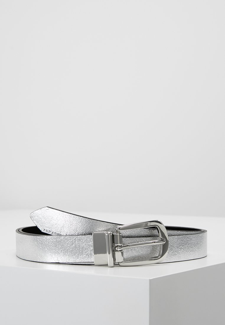 Armani Exchange - WOMAN'S BELT - Belt - silver/black