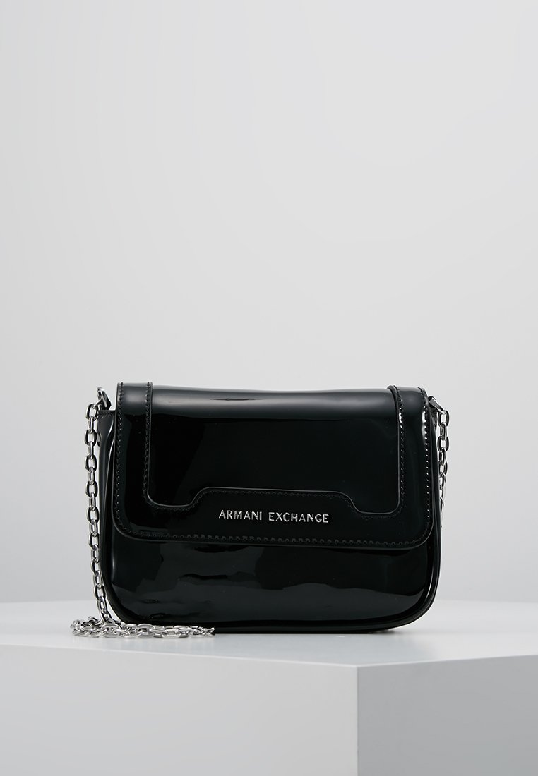 Armani Exchange - WOMAN'S CROSSBODY BAG - Schoudertas - black