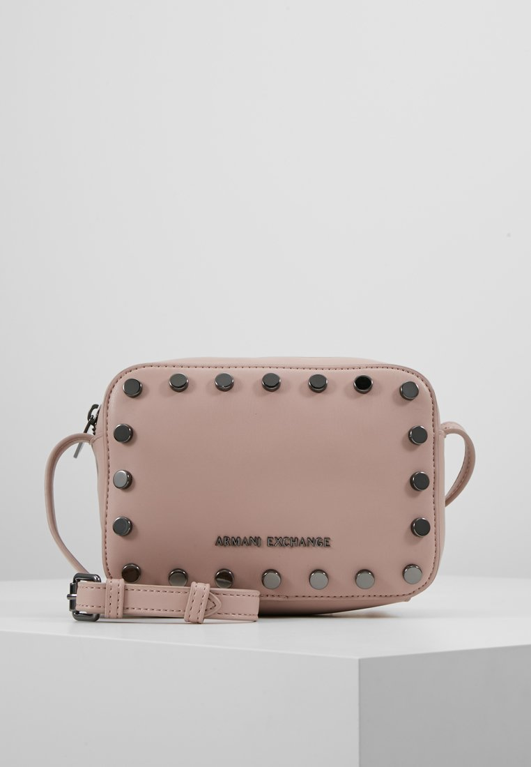 Armani Exchange - WOMANS SMALL CROSSBODY BAG - Umhängetasche - under the skin