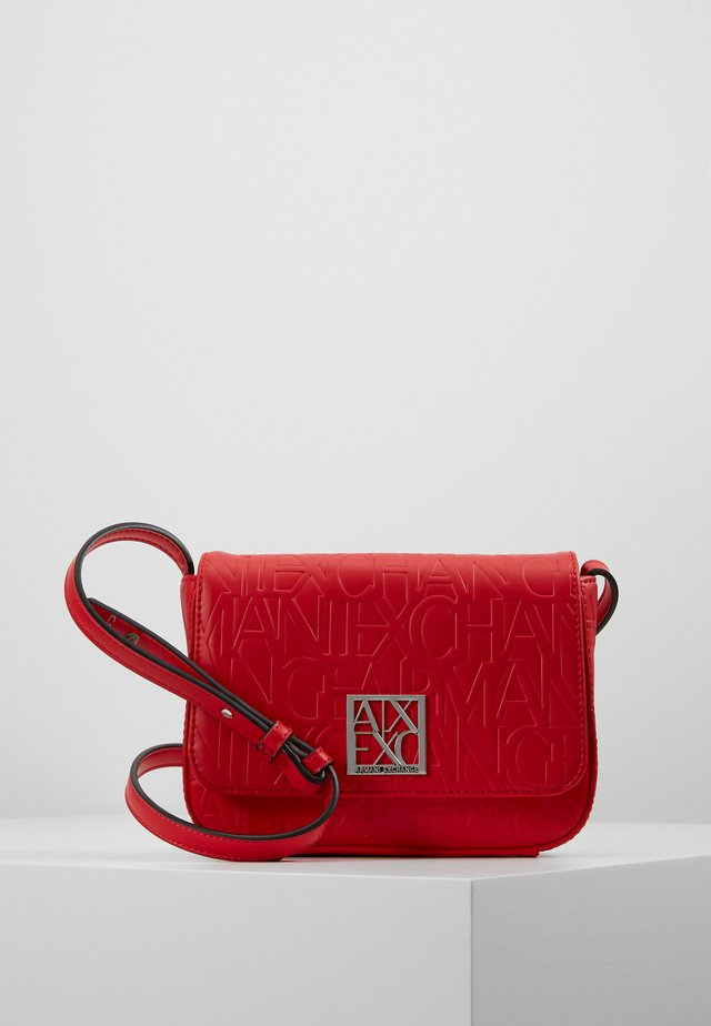 BORSA - Across body bag - rosso red