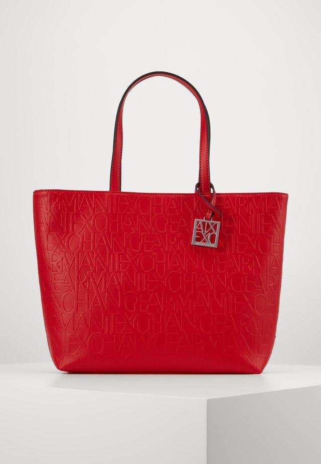 BORSA - Shopping bag - red