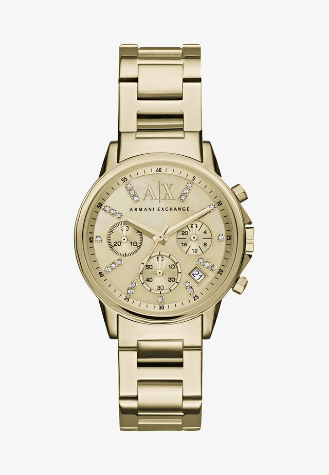Chronograph - gold-coloured