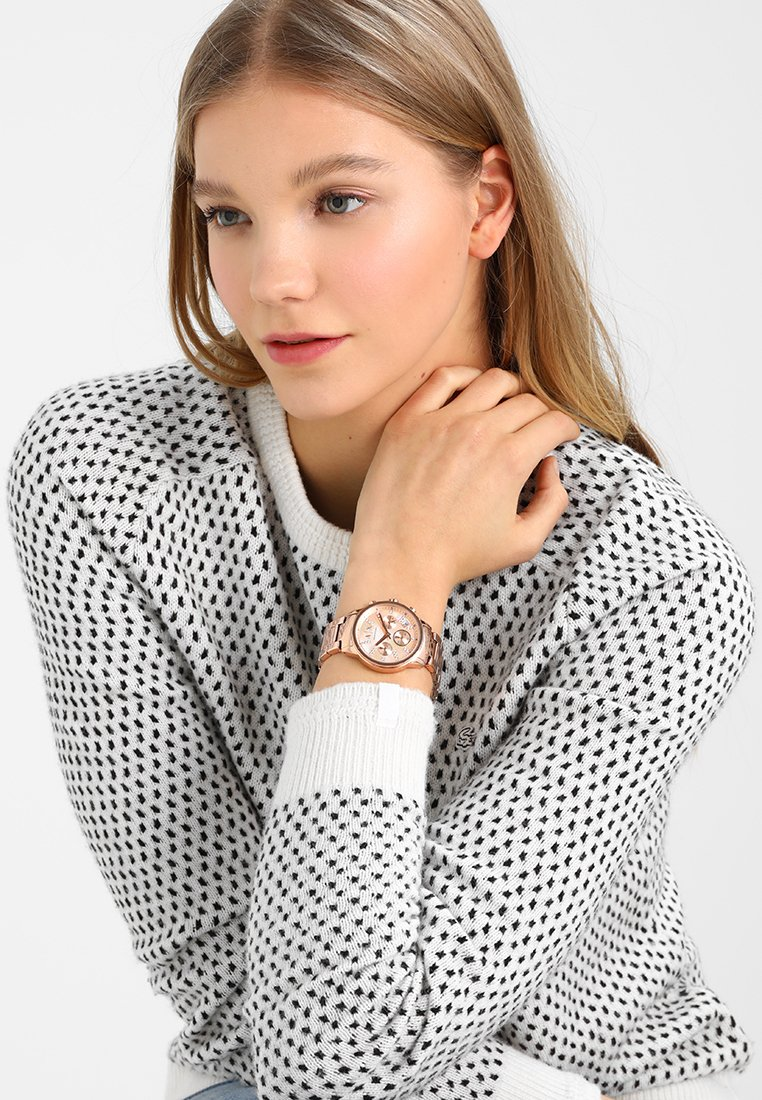 Armani Exchange - Montre - rose gold-coloured
