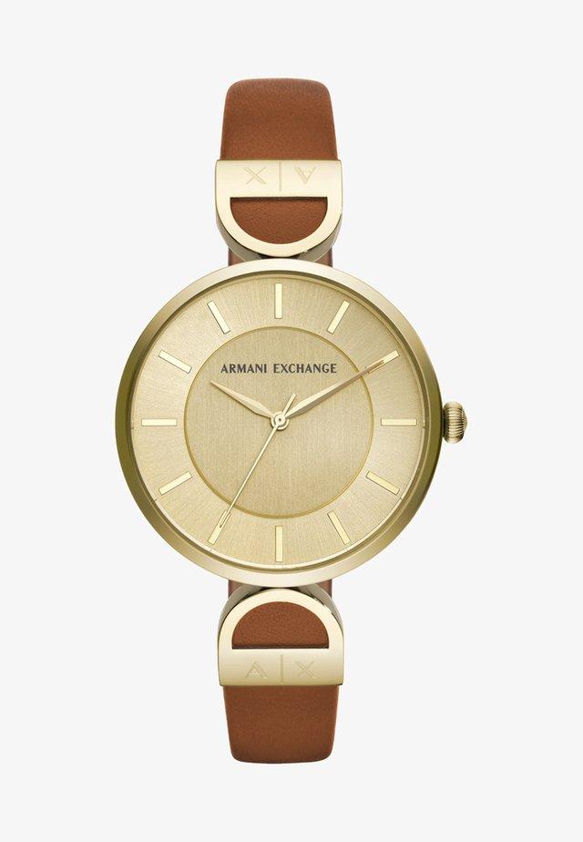 Klokke - brown/gold-coloured