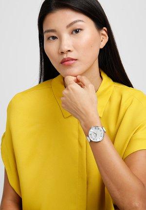 Horloge - silver/white