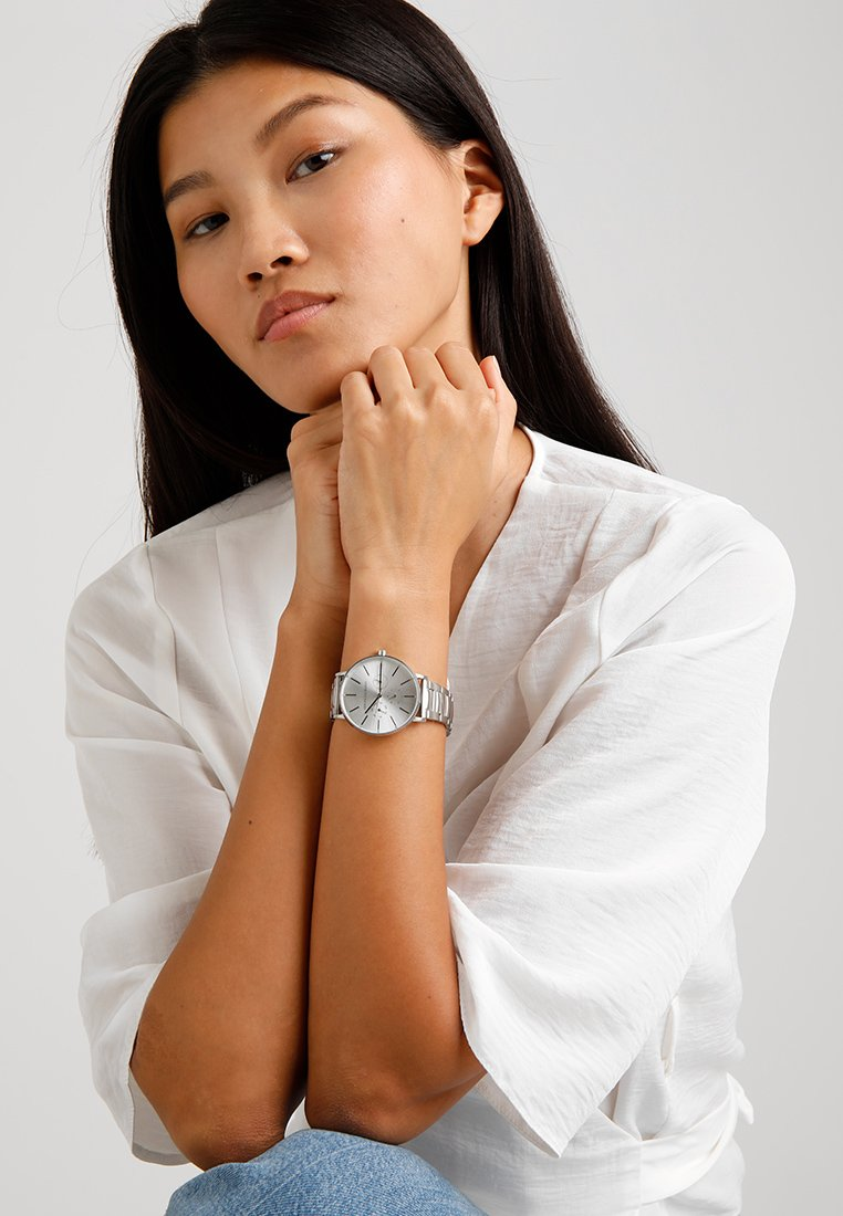 Armani Exchange - Uhr - silver-coloured