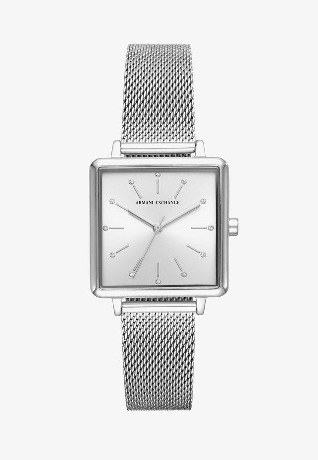 Horloge - silver-coloured