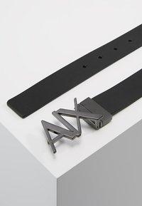Armani Exchange - BELT - Belt - black - 2