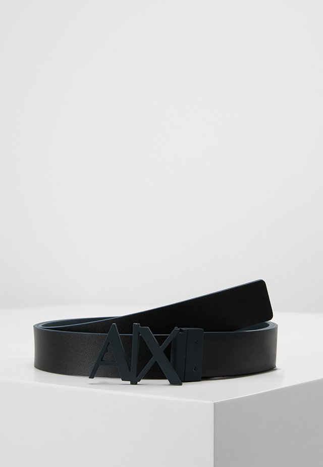 BELT - Cintura - black/navy