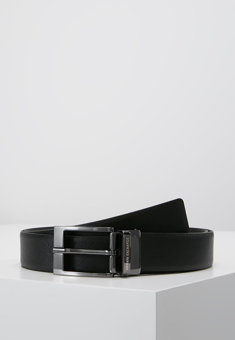 Armani Exchange - Belt - black/dark brown