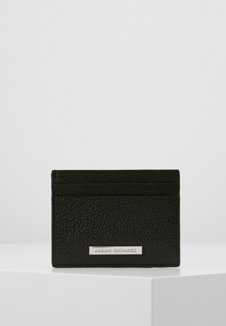 Armani Exchange - MINUTERIA PELLETT - Portemonnee - dark brown
