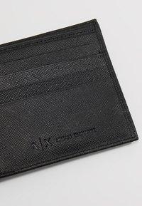 Armani Exchange - Peněženka - black - 7