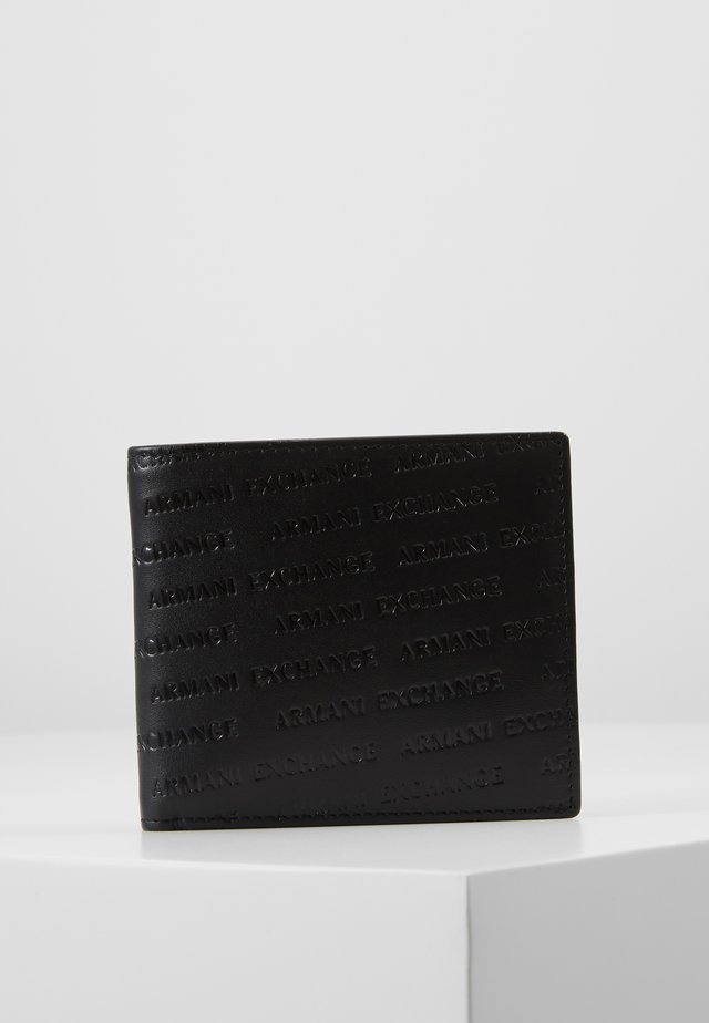 BIFOLD COIN CASE - Wallet - black