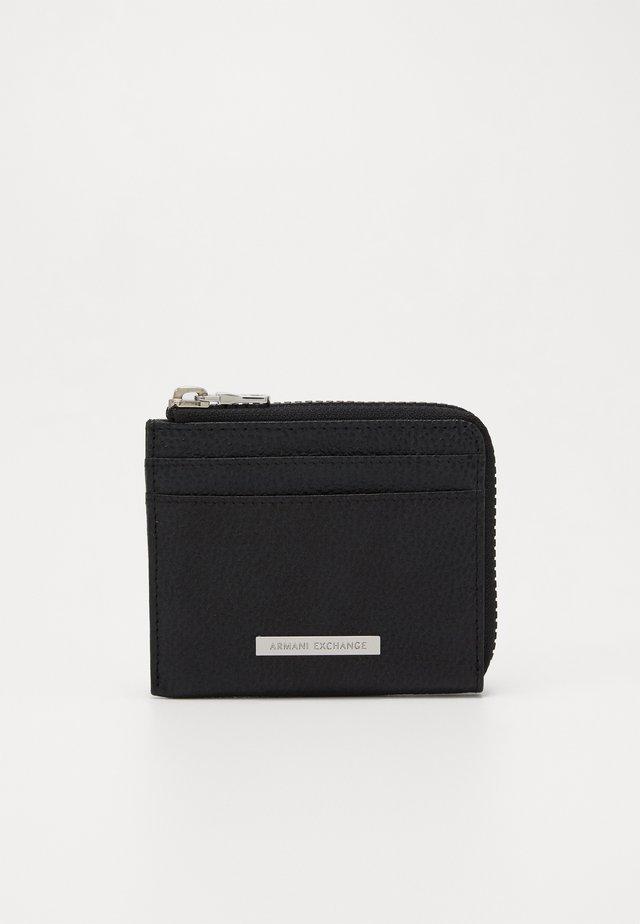 CREDIT CARD HOLDER - Plånbok - black