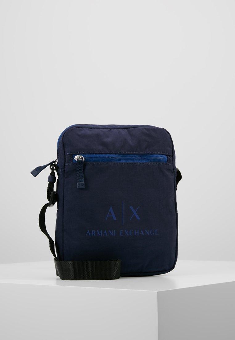 Armani Exchange - CROSSBODY BAG - Sac bandoulière - dark sea