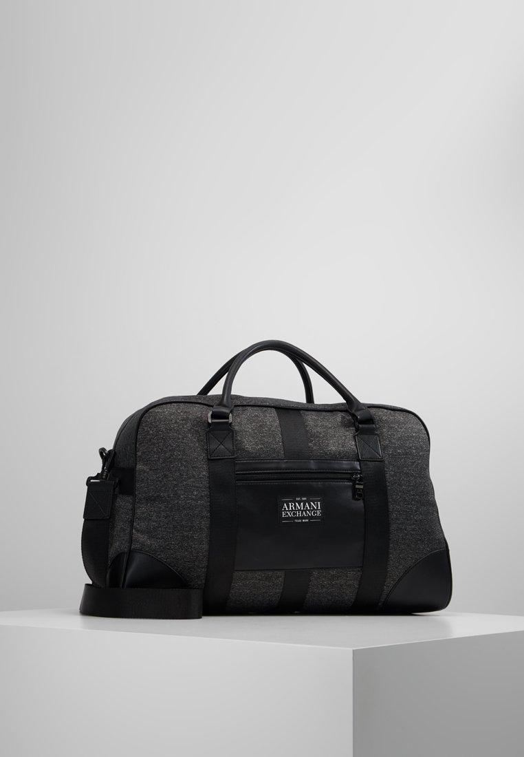 Armani Exchange - Weekendtas - dark grey/black
