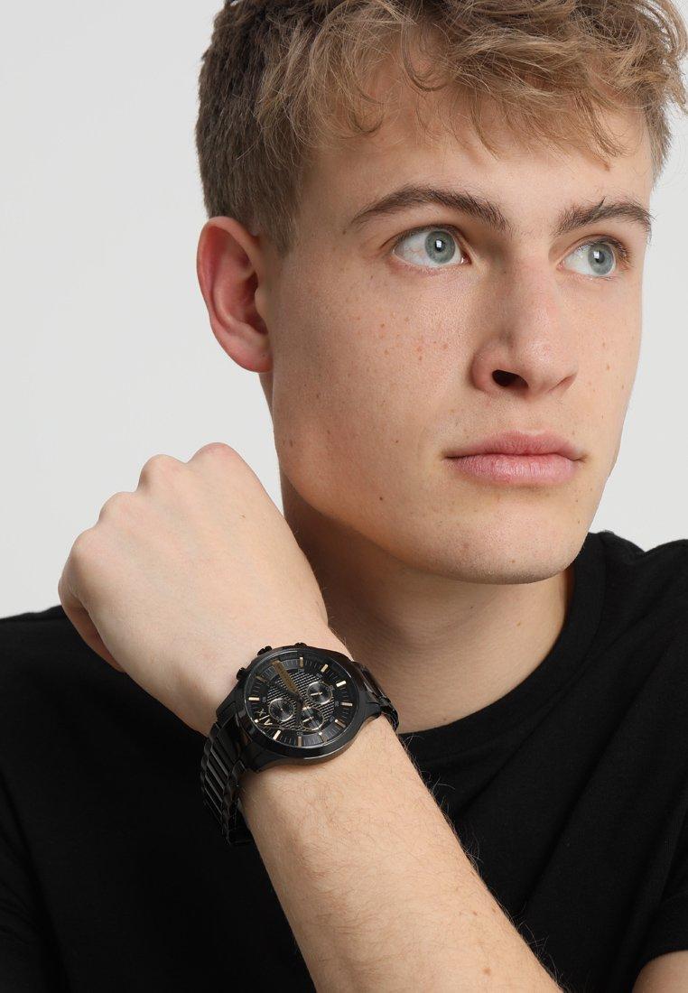 Armani Exchange - Chronograph - schwarz ip