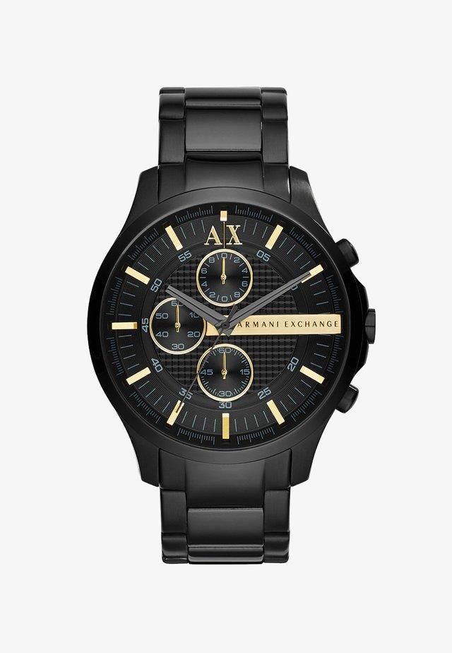 Kronografklokke - schwarz ip