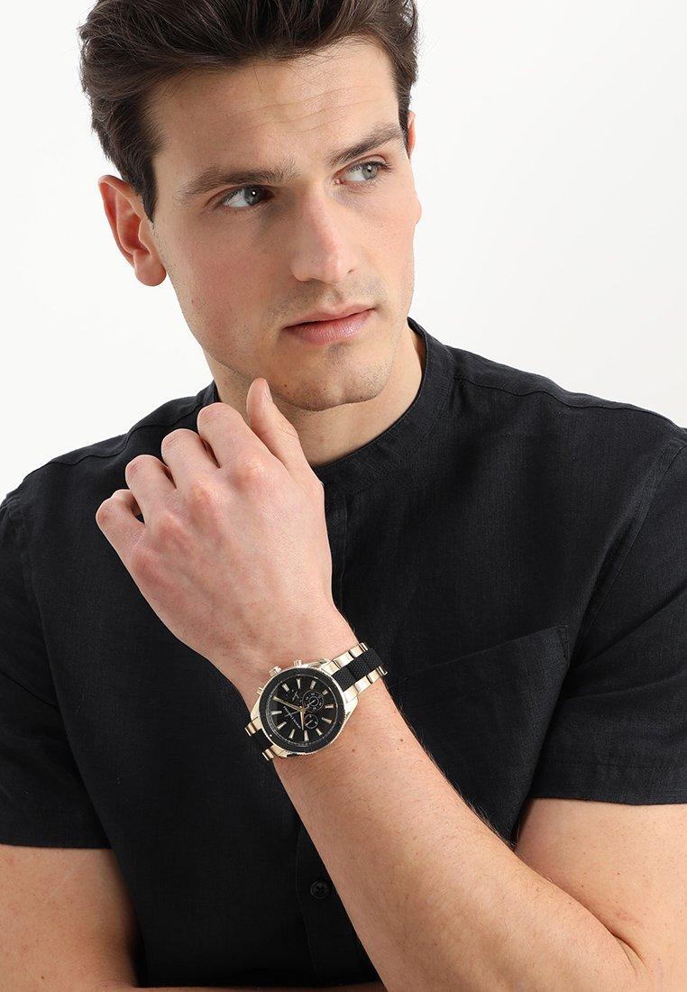 Armani Exchange - Chronograph watch - gold-coloured/schwarz