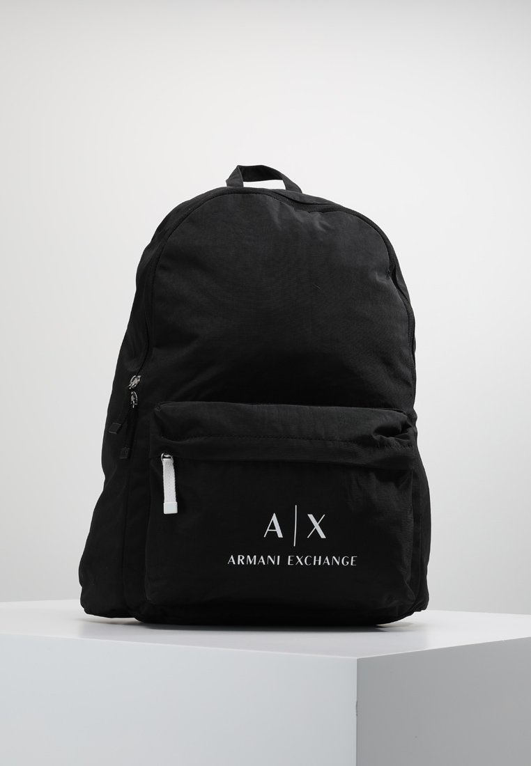 Armani Exchange - BACKPACK - Rucksack - nero