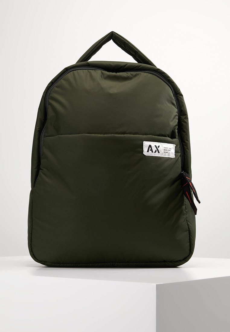 Armani Exchange - Rugzak - grey climbing ivy