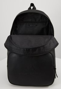 Armani Exchange - BACKPACK - Reppu - black/gunmetal - 3