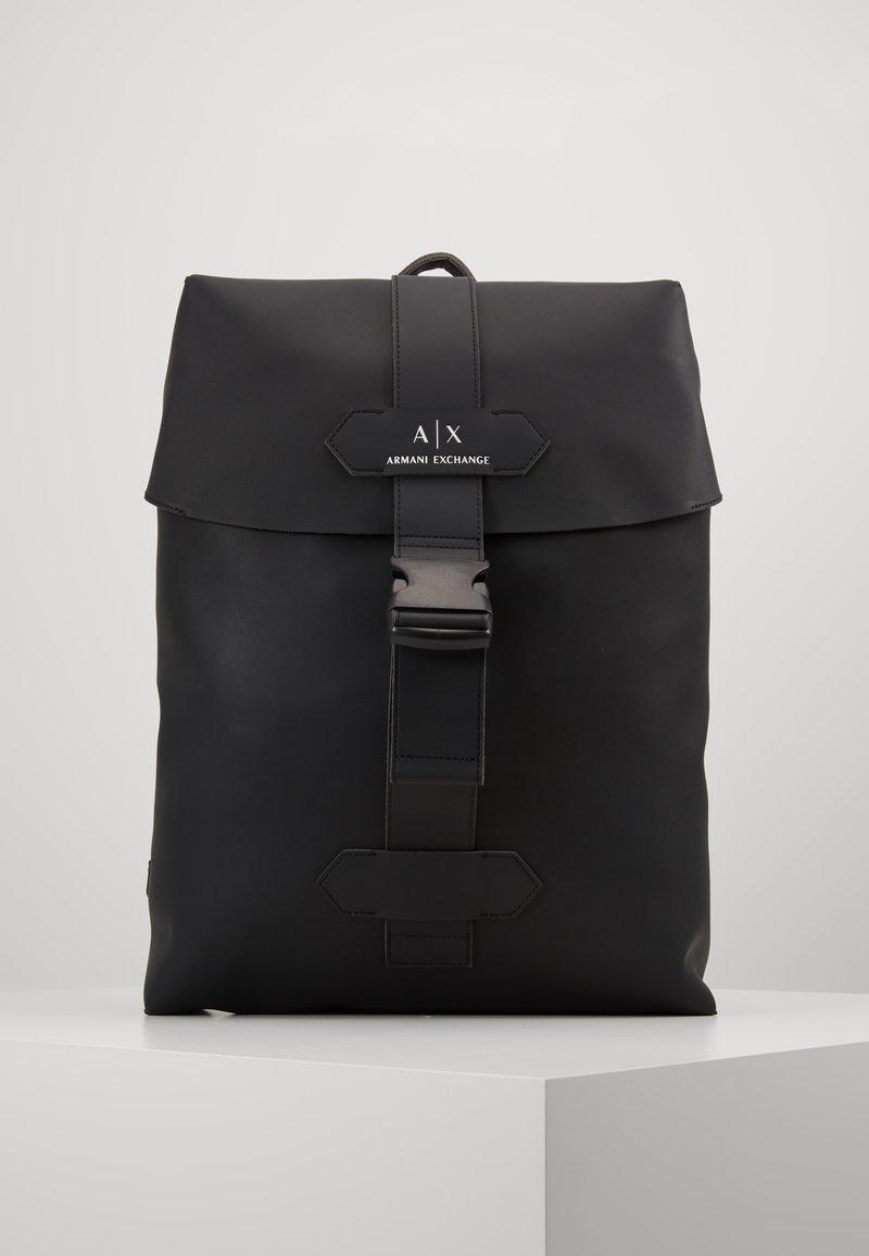 Armani Exchange - BACKPACK - Reppu - black
