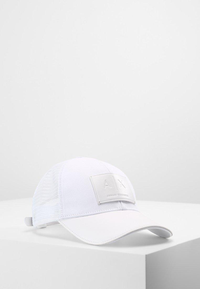 Armani Exchange - LOGO PATCH  - Cappellino - bianco