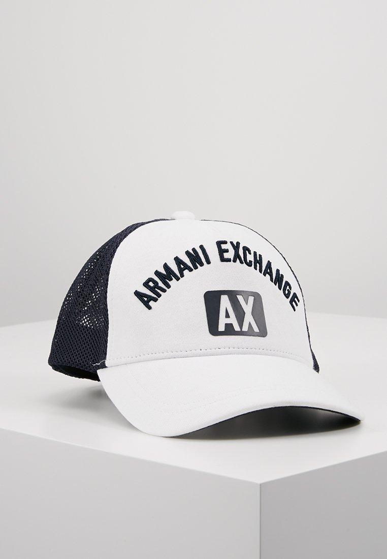 Armani Exchange - Pet - white/navy