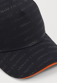 Armani Exchange - BASEBALL HAT - Cap - black - 5