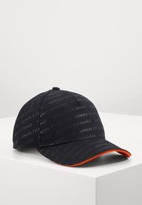 Armani Exchange - BASEBALL HAT - Cap - black - 0