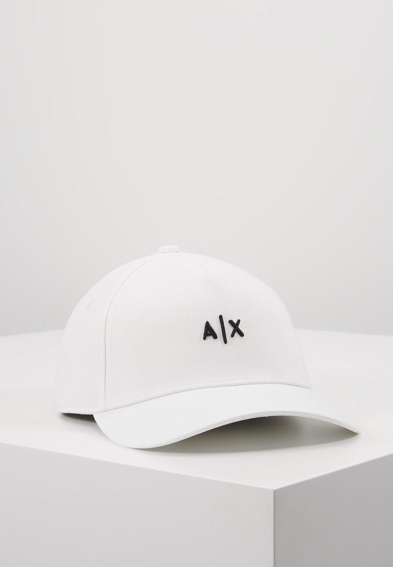 Armani Exchange - Keps - white/black