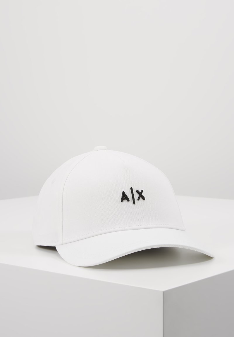 Armani Exchange - Cap - white/black
