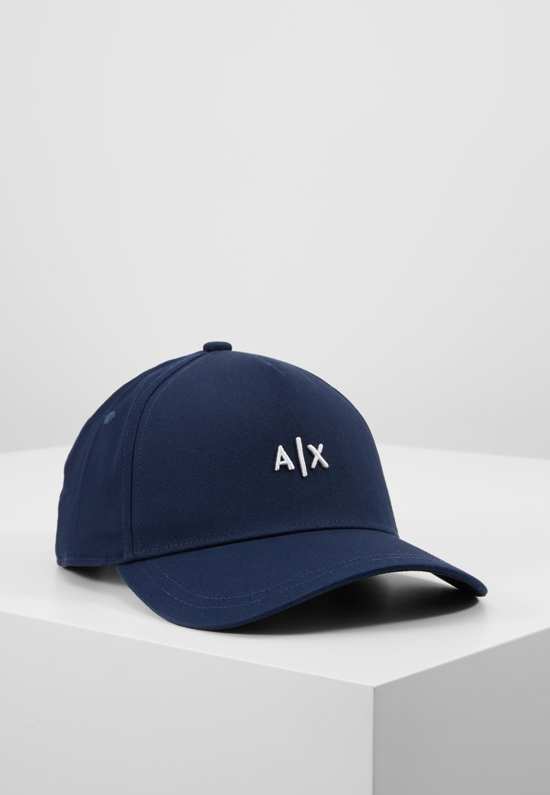 Armani Exchange - Cap - navy/white