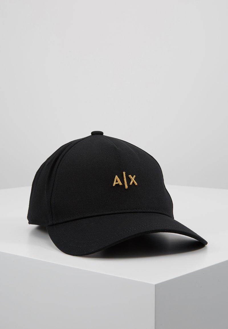 Armani Exchange - Cap - black/gold