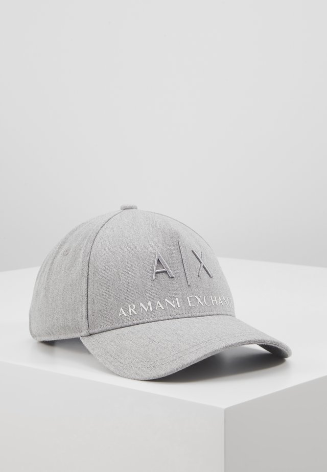 CORP LOGO HAT - Cap - grey