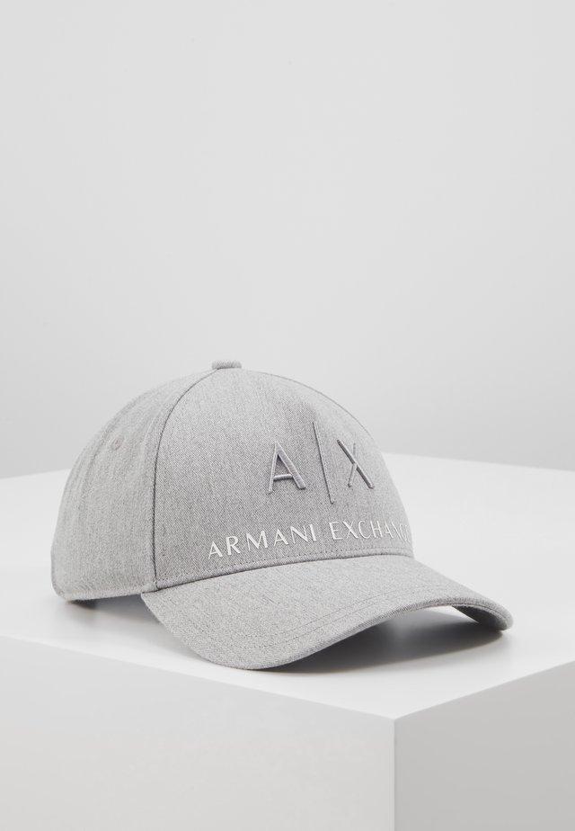 CORP LOGO HAT - Lippalakki - grey