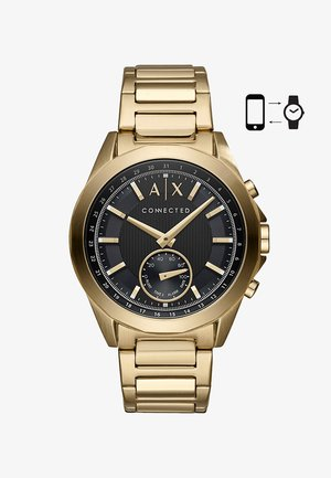 Smartwatch - gebürstet/glänzend/goldfarben